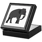 Walking Elephant Keepsake Box