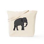 Walking Elephant Tote Bag