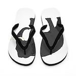 Walking Elephant Flip Flops