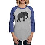 Walking Elephant Long Sleeve T-Shirt