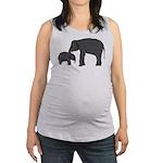 Mom and baby elephants Tank Top