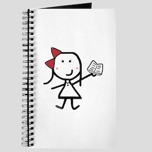 Girl & Book Journal