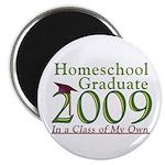 "2009 Homeschool Graduate 2.25"" Magnet (100 pa"