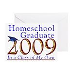 2009 Homeschool Graduate Note Cards (Pk of 10)