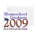 2009 Homeschool Graduate Note Cards (Pk of 10)