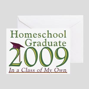2009 Homeschool Graduate Note cards