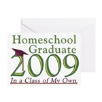 2009 Homeschool Graduate Note cards