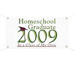 2009 Homeschool Graduate Banner