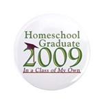 "2009 Homeschool Graduate 3.5"" Button"