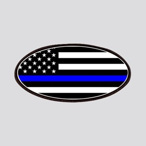 Thin Blue Line - USA United States American Patch