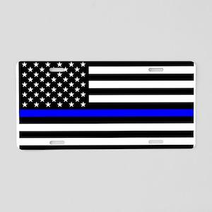 Thin Blue Line - USA United Aluminum License Plate