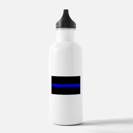 Thin Blue Line - USA U Water Bottle