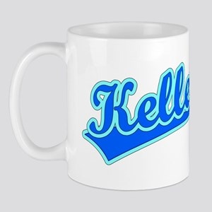 Retro Keller (Blue) Mug