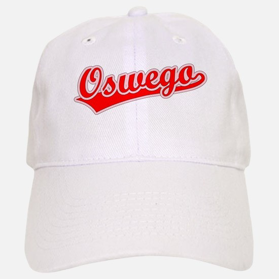 Retro Oswego (Red) Baseball Baseball Cap