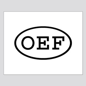 OEF Oval Small Poster