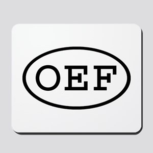 OEF Oval Mousepad