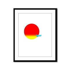 Igor Framed Panel Print