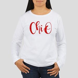 Chi Omega ChiO Women's Long Sleeve T-Shirt