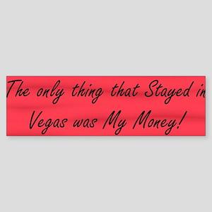 VegasMoney Bumper Sticker