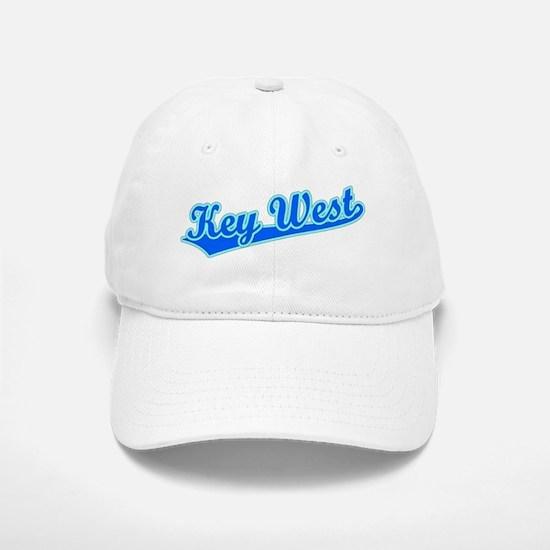 Retro Key West (Blue) Baseball Baseball Cap