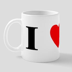 I Heart Boxer Mug