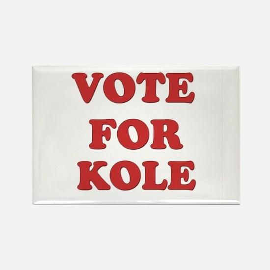 Vote for KOLE Rectangle Magnet