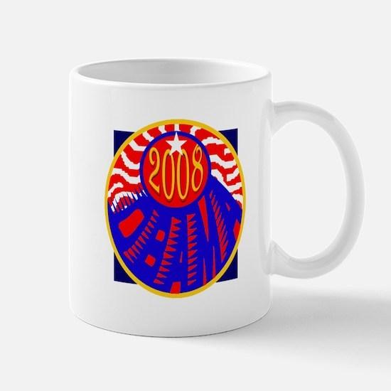 OBAMA 2008 RWB Mug