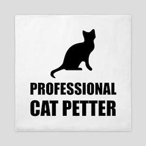 Professional Cat Petter Queen Duvet