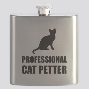 Professional Cat Petter Flask
