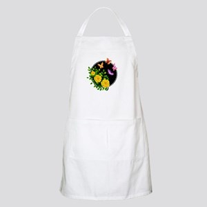 YELLOW ROSES AND BUTTERFLIES Light Apron