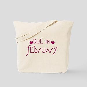 Pegasus Hearts Due In February Tote Bag