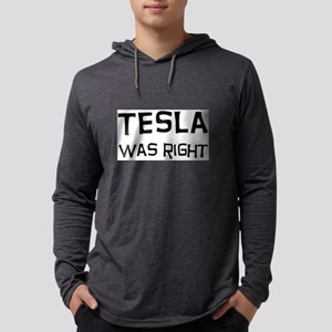 tesla2 Mens Hooded Shirt