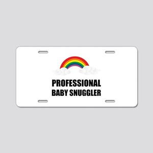 Professional Baby Snuggler Aluminum License Plate