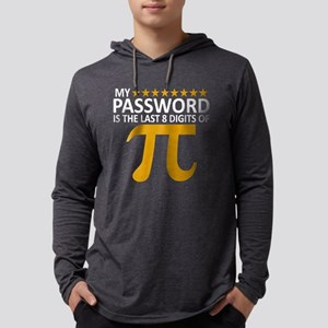My Password Is The Last 8 Digits Mens Hooded Shirt
