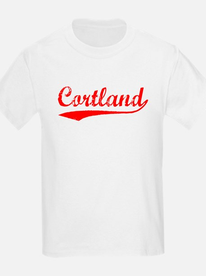 Vintage Cortland (Red) T-Shirt