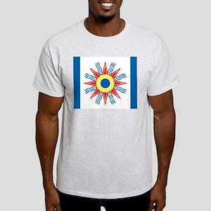Chaldean Flag White T-Shirt