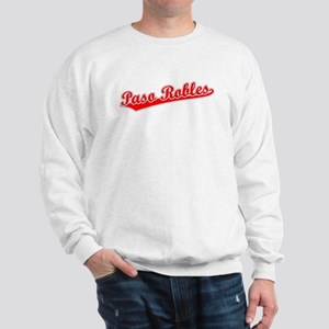 Retro Paso Robles (Red) Sweatshirt