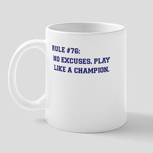 Rule 76 Mug