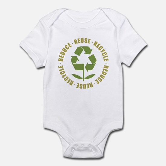 Reduce Reuse Recycle Infant Bodysuit