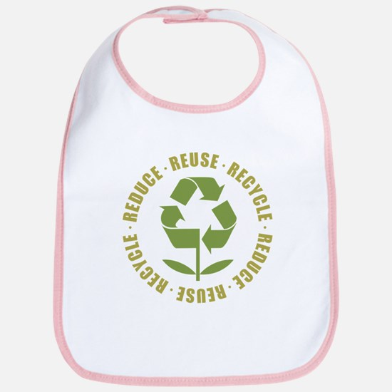 Reduce Reuse Recycle Bib