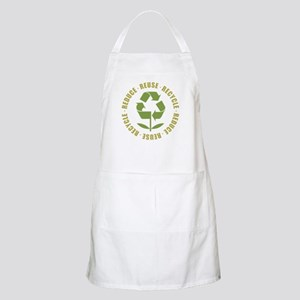 Reduce Reuse Recycle BBQ Apron
