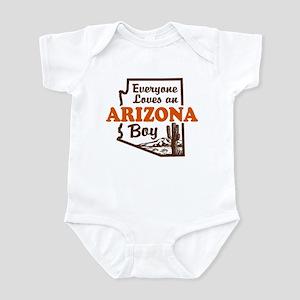 Everyone Loves an Arizona Boy Infant Bodysuit