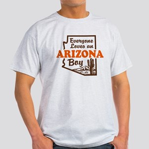 Everyone Loves an Arizona Boy Light T-Shirt