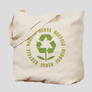 Reduce Reuse Recycle Tote Bag