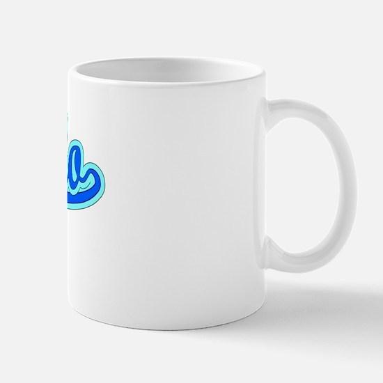 Retro Laredo (Blue) Mug