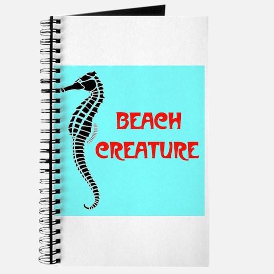 BEACH CREATURE Journal