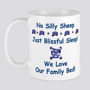No Silly Sheep! Co-sleeping Advocacy Mug