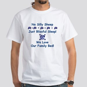 No Silly Sheep! Co-sleeping Advocacy White Tee