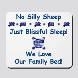 No Silly Sheep! Co-sleeping Advocacy Mousepad