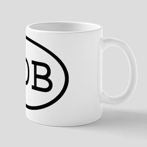 ODB Oval Mug